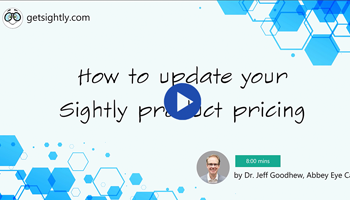Sightly Training Video Series: How to Update Your Sightly Product Pricing